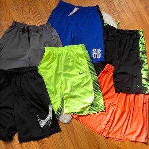 Boys athletic short lot size XL